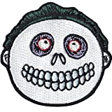 Nightmare Before Christmas Barrel Troublemaker Disney Iron On Embroidered Patch