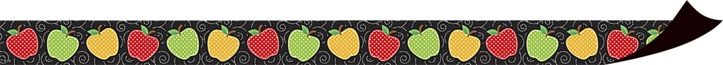 Teacher Created Resources Dotty Apples Magnetic Border (77248)