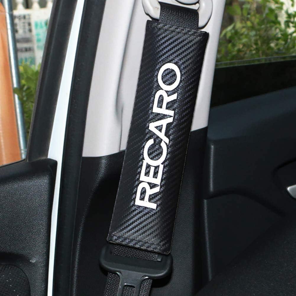 A. DDDXF 1 Paar Auto Car Safety Sicherheitsgurtbezug Kissengurt Schulterpolster Gurtpolster F/ür Recaro Racing
