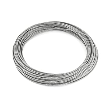 1.5mm Dia 7x7 25M Length Stainless Steel Wire Rope Cable for ...