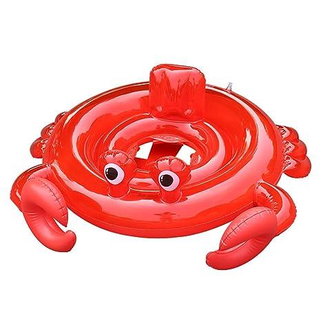 Inflatable Swim Rings Crab Pool Beach Float Child