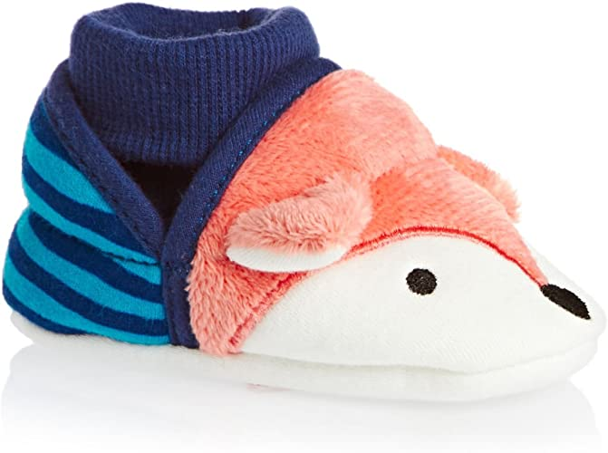 Joules Baby Boy Slippers Fox