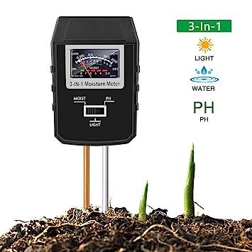 Analysatoren Indoor/outdoor Feuchtigkeit Sensor Meter Boden Wasser Monitor Hydrometer Für Gartenarbeit Landwirtschaft Einfach Zu Verwenden Feuchtigkeit Meter