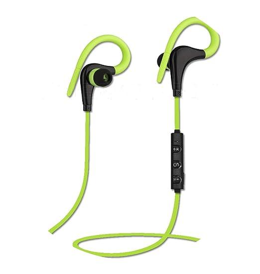 Ear Hook Wireless Headphone Earphone Sport Headset Ecouteur Auriculares Bluetooth,Wireless Green