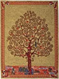 Klimt's Tree Of Life Belgian Tapestry