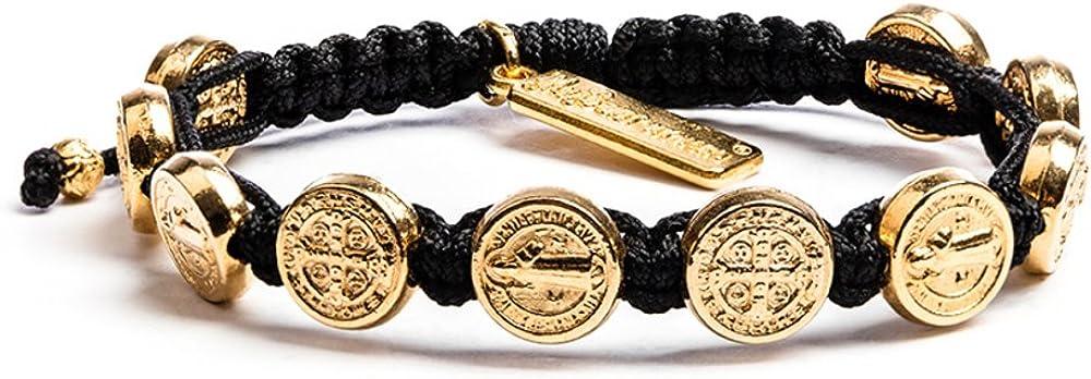 My Saint My Hero Benedictine Blessing Bracelet