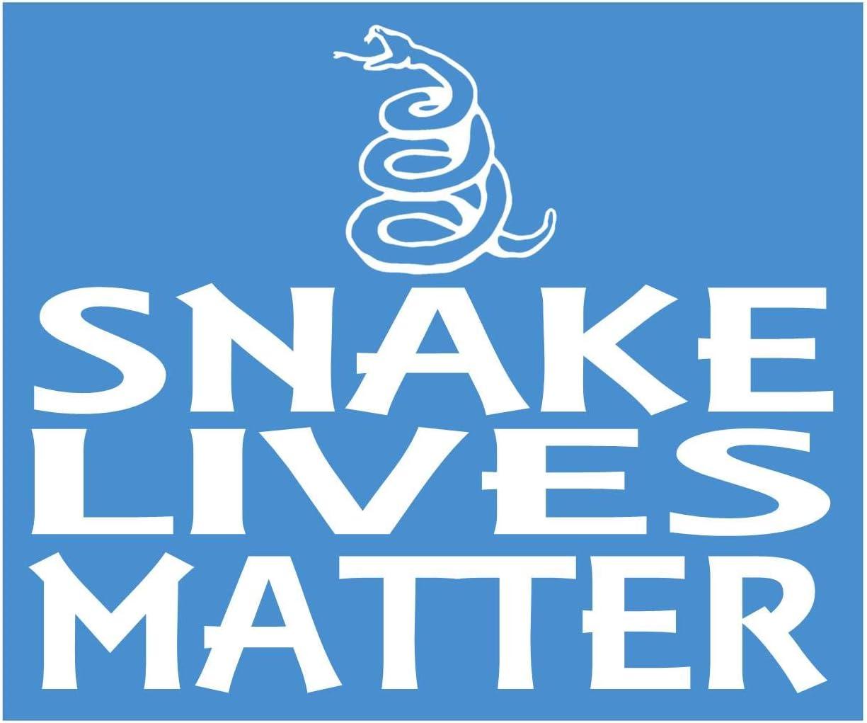 EZ-STIK Snake Lives Matter Sticker k185 6 inch cobra decal