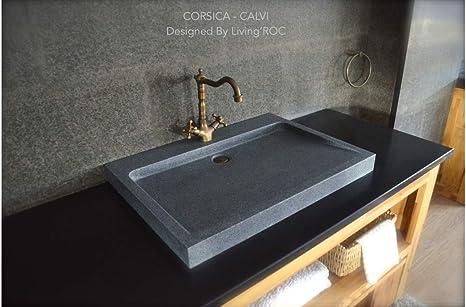 Vasche Da Bagno Da Incasso Misure : Naturale per lavabo grigio pietra granito piccolo guardaroba