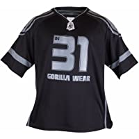 GORILLA WEAR Gw Athlete T-Shirt Dennis James Black/Grey