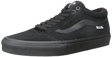 f5806dfa9899c8 Vans TNT SG Blackout Men s Classic Skate Shoes Size 7.5