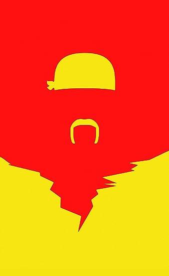Amazon.com: Bandera de Hulk Hogan de 3 x 5 pies, color rojo ...