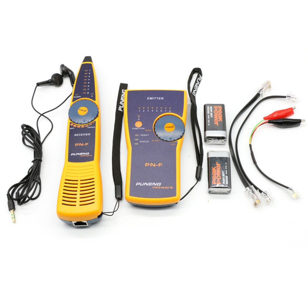 USUN Cable Finder Tone Wire Tracer Probe Tracker Wire Network Tester ...