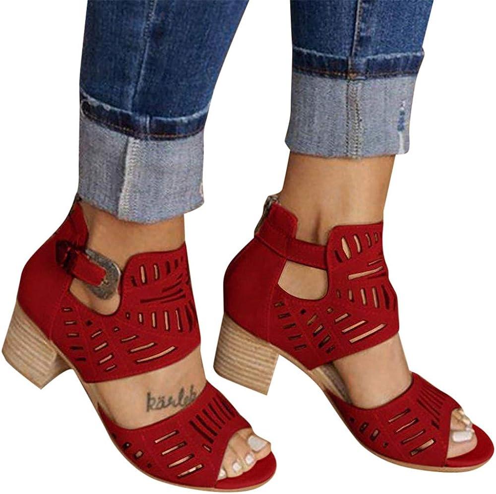 peep toe block heel ankle boots
