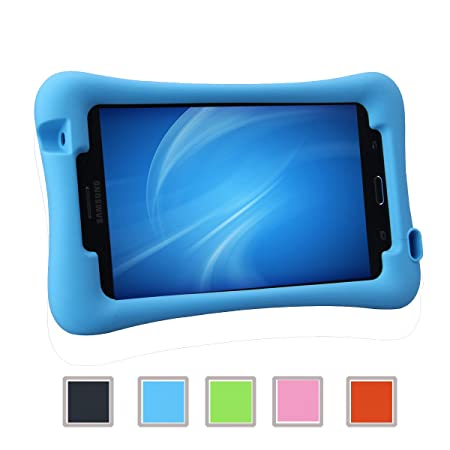 NEWSTYLE Samsung Galaxy Tab 4 7.0 Kinderfreundliche Silikon Hülle Schutzhülle Tasche Case für Samsung Tab 4 SM-T230 / T231 /