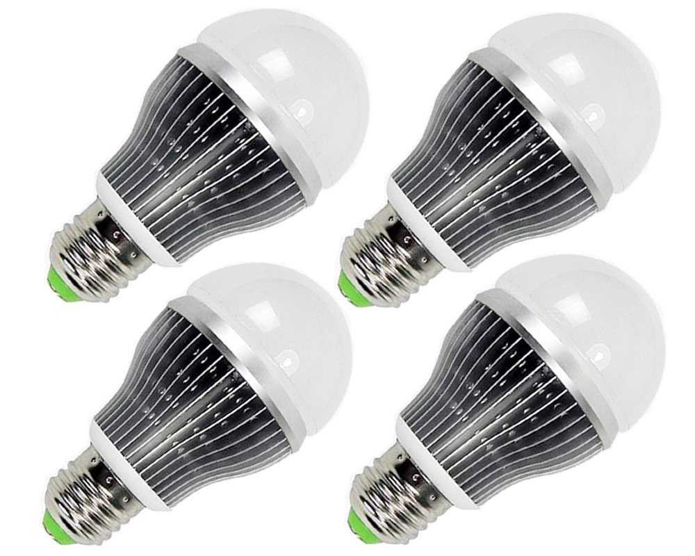 High Quality E27 Dimmable Led Bulb 12W 110V Led Lamparas Lamp LED Dimmer Bulb Lampada Led Bulb E27 Dimmable With Special Fins For Heat Sink (4, Warm White)