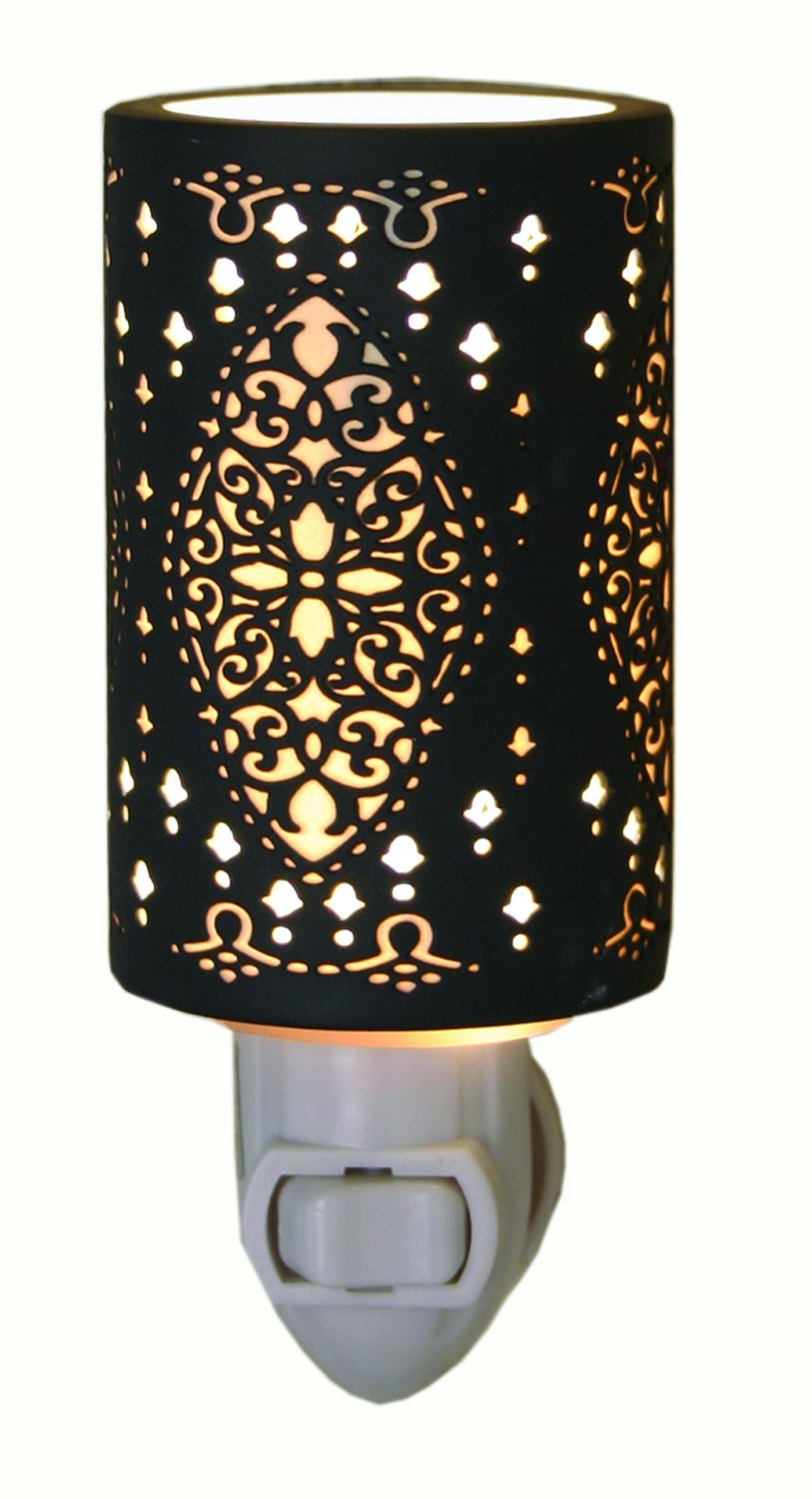 Seville - Silhouette Porcelain Night Light by The Porcelain Garden by The Porcelain Garden