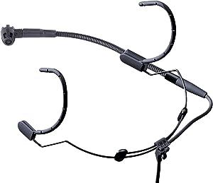 AKG Pro Audio C520 Professional Head-Worn Condenser Microphone with Standard XLR Connector