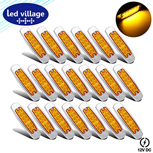 20 Pcs LedVillage 12V DC 6.4