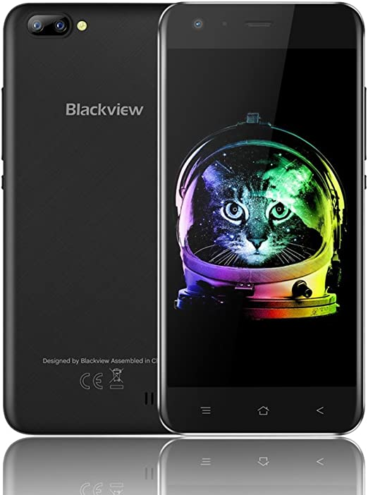 Blackview A7 Smartphone Libre Dual Sim Android 7.0 8GB ROM 5MP ...