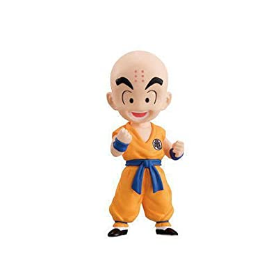 Bandai Dragon Ball Adverge EX Children Volume 1 Krillin Mini Figure: Toys & Games