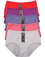 Bamboo Viscose Fiber Menstrual Period Leakproof Panties Multi Pack Size:8-16