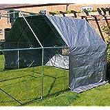 Couverture de fin pour Walk In Dog Kennel Pen Run plein air Exercice Cage