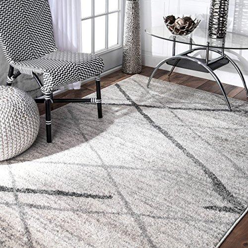 nuLOOM Contemporary Thigpen Area Rug, 5' x 8', Grey ()