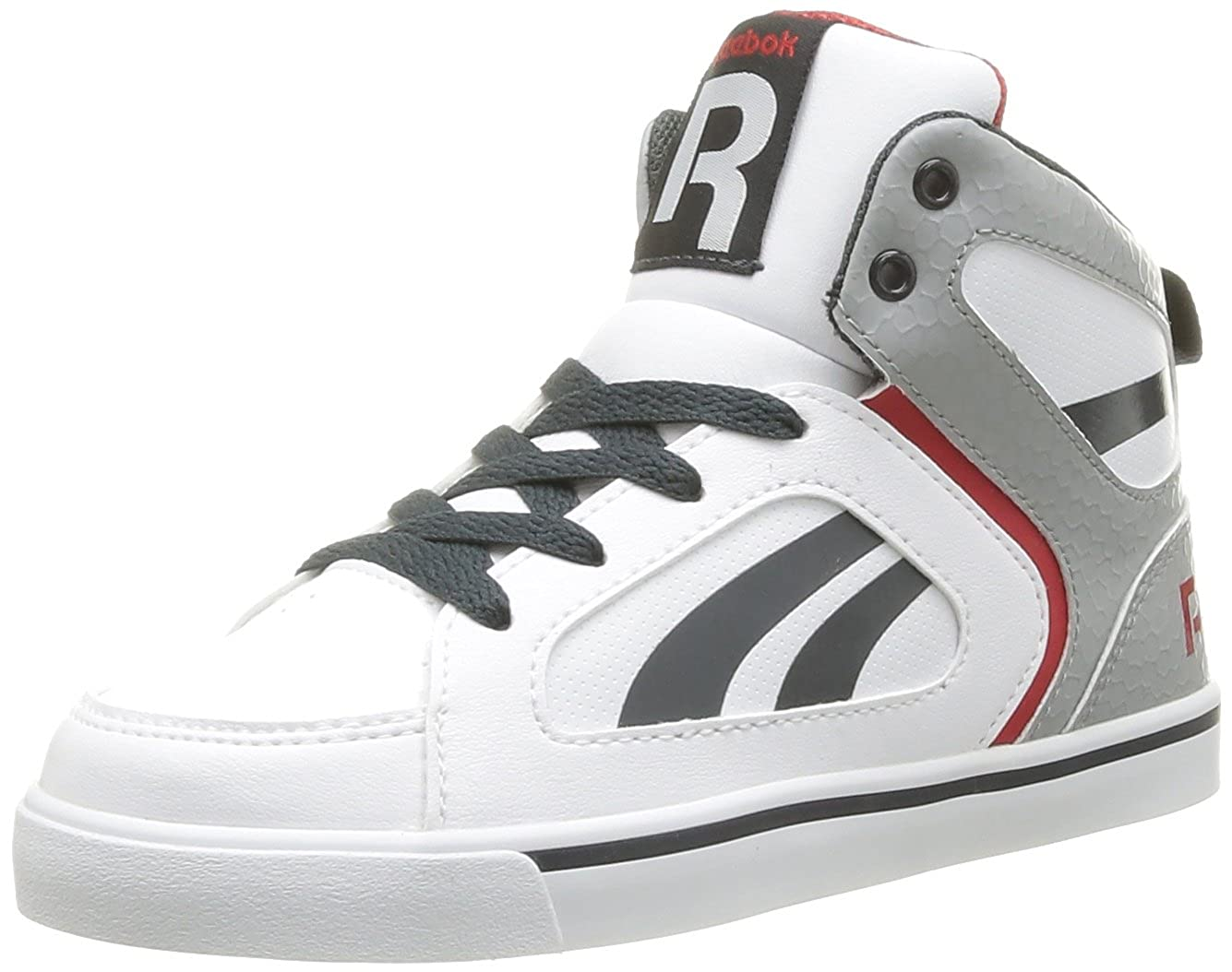 Reebok Boys  Ksee You Mid Trainers White Blanc (White Tin Grey Gravel) 29   Amazon.co.uk  Shoes   Bags 747d4d5f2
