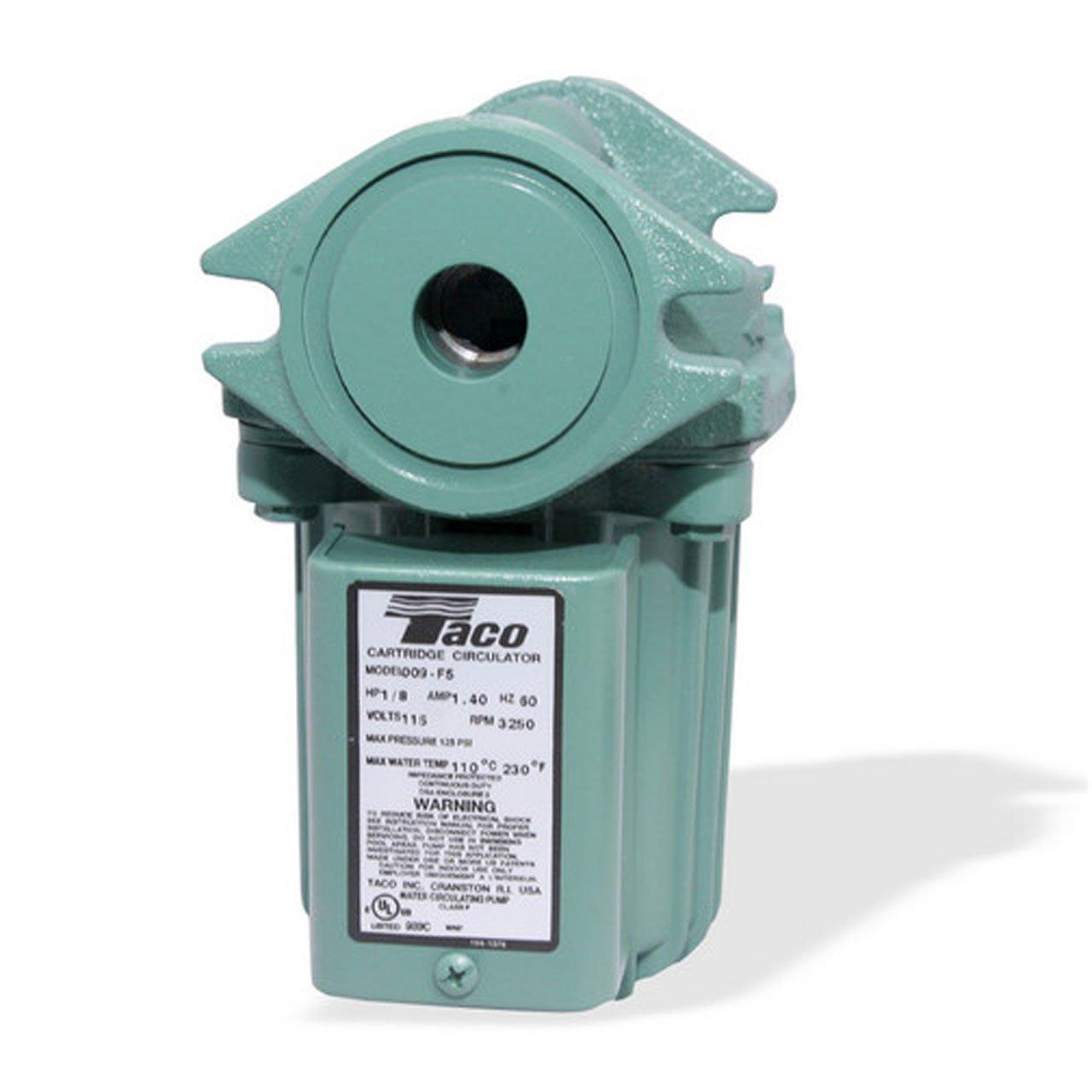 Taco 009 F5 Cast Iron High Velocity Cartridge Circulator Pump 00 Wiring Portable Power Water Pumps