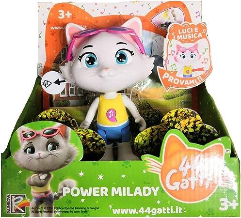 Simba Toys Personaggio 44 Gatti Milady Con Luci E Suoni 15 Cm Prodotto Ufficiale 3 Amazon It Giochi E Giocattoli