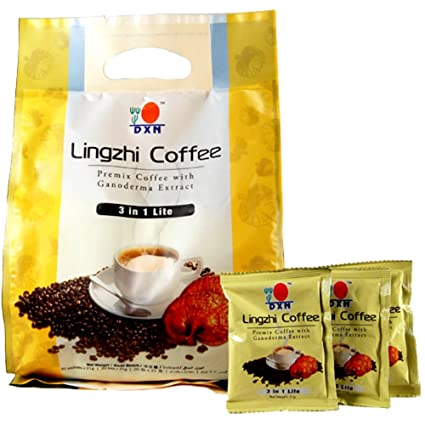 Amazon.com   DXN lingzhi 3 in 1 LITE Ganoderma (Red Reishi) Coffee -  lighter version of original 3 in 1 ganoderma coffee (Pack of 5)    Everything Else 610d4e645f
