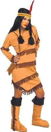 Guirca - Disfraz de India Sioux: Amazon.es: Hogar
