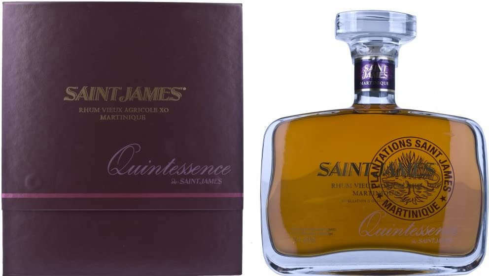 Ron Xo Quintessence Saint James Rhum 42% 70 cl: Amazon ...