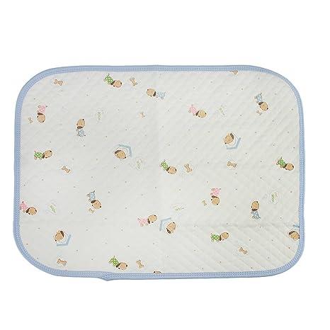 Fake Face algodón cama colchón contra incontinencia (resistente al agua absorbente lavable a máquina para