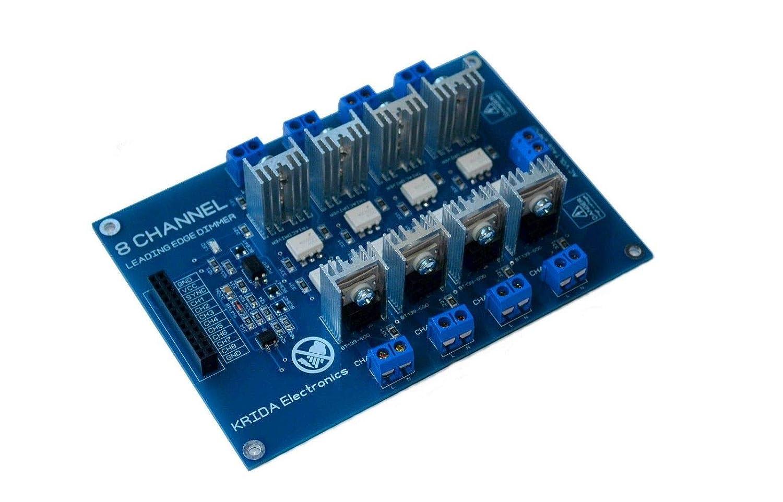 Amazon.com: YONEIX 8CH AC DIMMER SSR Relay Board ARDUINO 2A 50HZ 60HZ 110V 220V Smart Home: Electronics