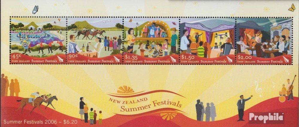 Prophila Collection Nueva Zelanda Bloque 203 Completa.edici/ón. 2006 Sommerfestivals M/úsica // Bailar Sellos para los coleccionistas