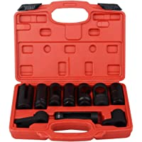 FreeTec Oxygen Sensor Socket Set Sending Unit Socket Wrench Tool