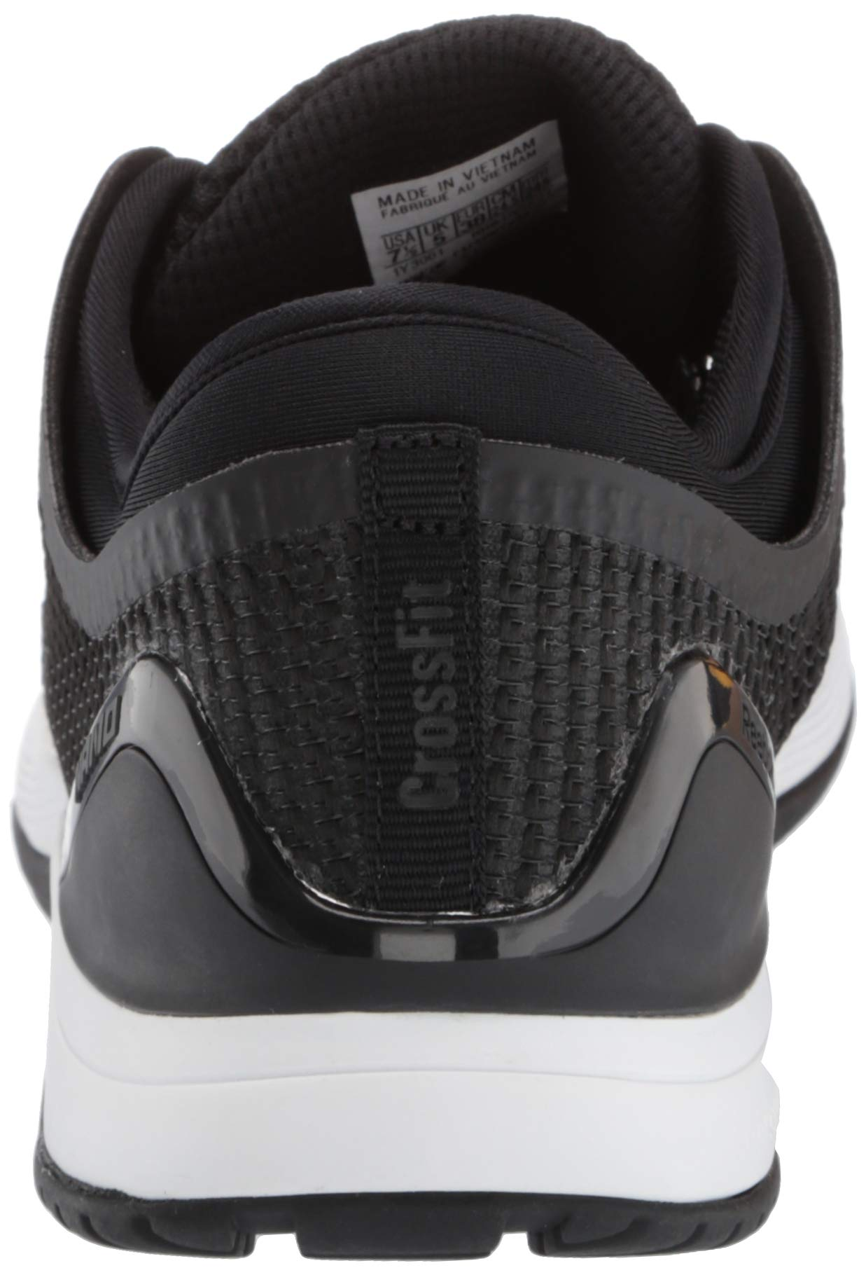 Reebok Women's CROSSFIT Nano 8.0 Flexweave Cross Trainer, Black/White, 5 M US by Reebok (Image #2)