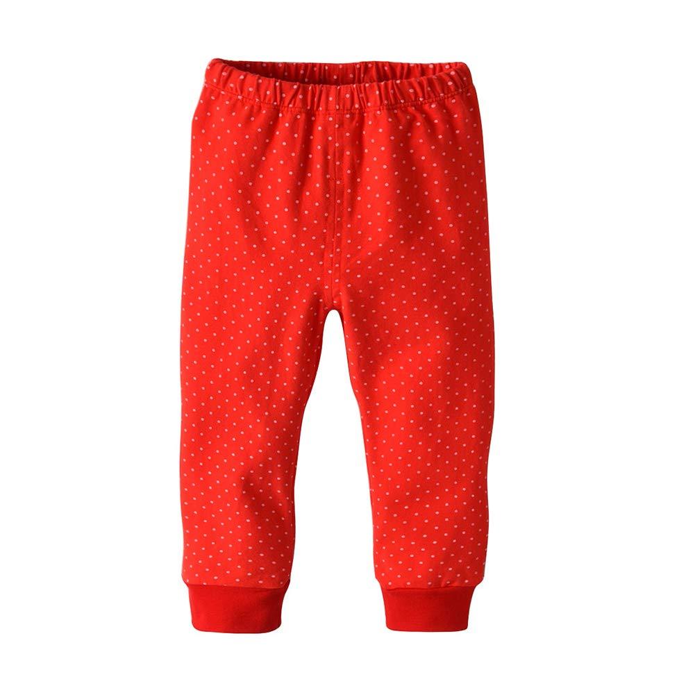 LSERVER Christmas Pajamas Little Kids Pajamas Sets Cotton Sleepwear Toddler Clothes