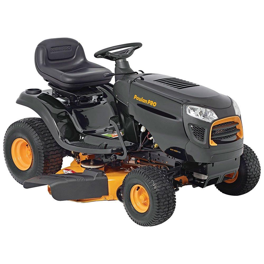 Poulan Pro 960420182 Briggs 15.5 hp Automatic Hydrostatic Transmission Drive Riding Mower, 42''