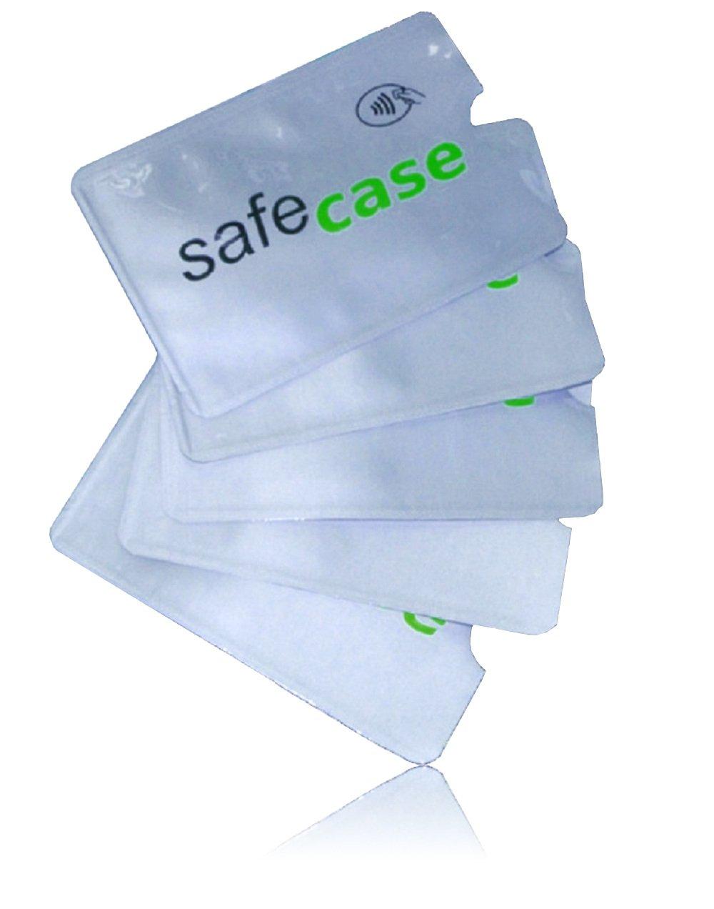 15er MakakaOnTheRun RFID Blocker NFC Schutz Kreditkartenhülle für EC-Karte, Bankkarte, Kreditkarte, Personalausweis (Family Pack) RFID Blocker Family Pack