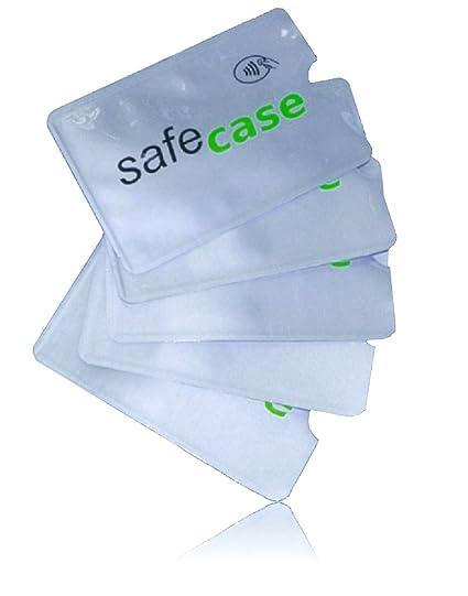 MOTR™ 5X RFID Blocker Funda Protectora para Tarjetas de crédito (Tarjetas bancarias, contactless, de Acceso, de autobús, de Transporte). Protege de ...