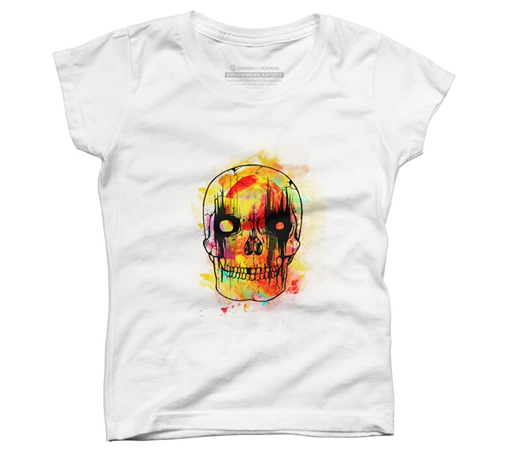 Design By Humans Boo Girls Youth Graphic T Shirt