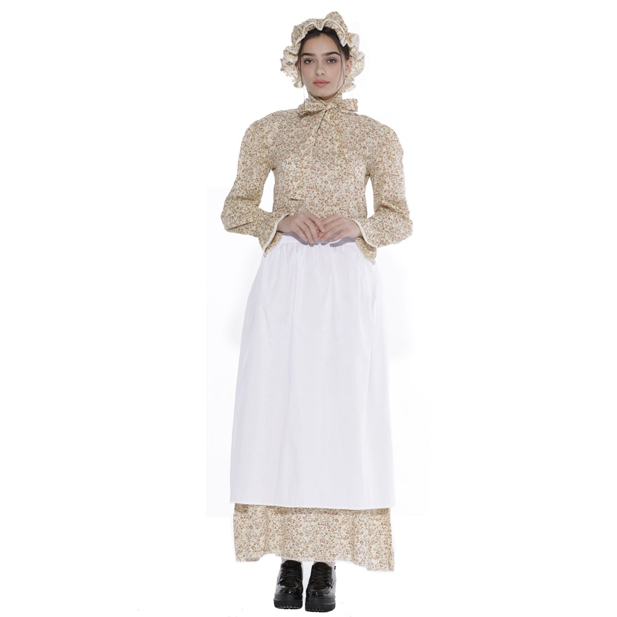 Vintage Style Children's Clothing: Girls, Boys, Baby, Toddler  Prairie Colonial Dress Reenactment Pioneer Women Costume KOGOGO $43.99 AT vintagedancer.com