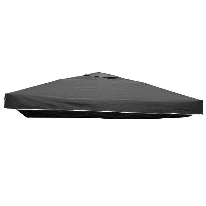 Amazon.de: Pavillon Ersatz Dach LUKAS 3x3 m grau Stoffdach