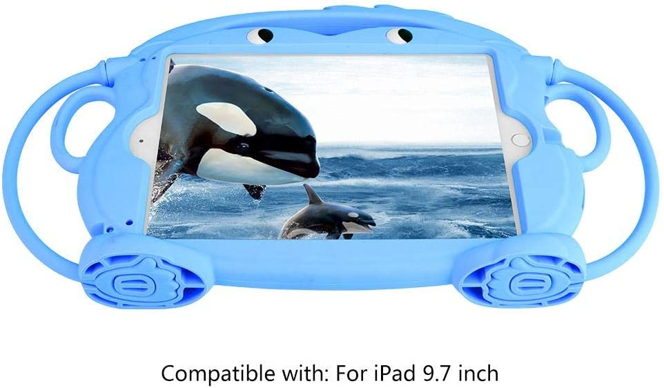 Tablet Protective Case 9.7 Inch Cartoon Shape Silicone Washable Non-Slip Dust Proof Drop Resistant Shockproof Safe Durable Case Cover #2
