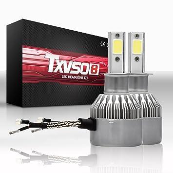 Bombillas antiniebla LED H3 - Todos los tamaños y colores de la bombilla - 6000K Blanco