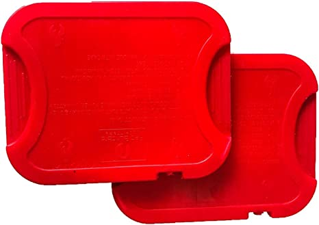 Red Suricata reutilizable Hot Packs – Juego de 2 – Slim Thin Hot ...