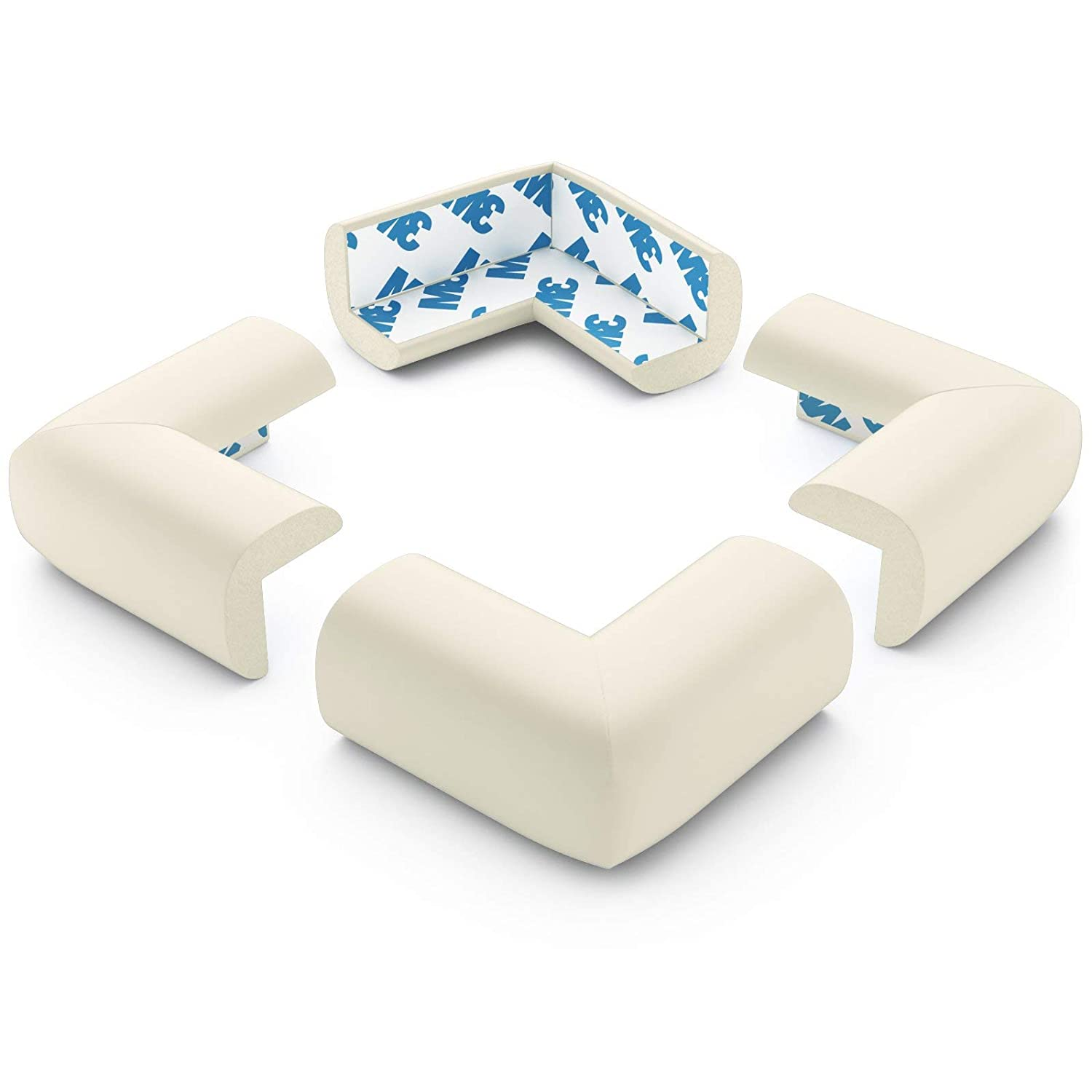 New 16 PCS Silicone Corner Edge Protector Cushions Table Cover Child Baby Safety