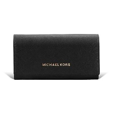 bb8fde017a44 (マイケル マイケルコース) MICHAEL MICHAEL KORS 財布 レディース 長財布 二つ折り レザー ロング